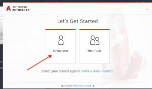 single user autodesk license