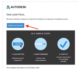 autodesk invitation