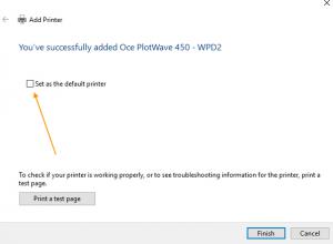 how to add Océ PlotWave 450