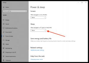 how to change sleep setting on computer