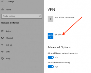 how to update company vpn