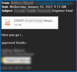 Phishing email checker