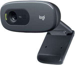 Logitech C270 3MP USB 2.0 Black Webcam