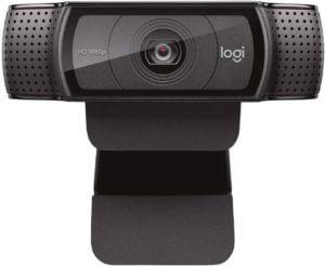 Logitech HD Pro Webcam C920, 1080p Widescreen Video